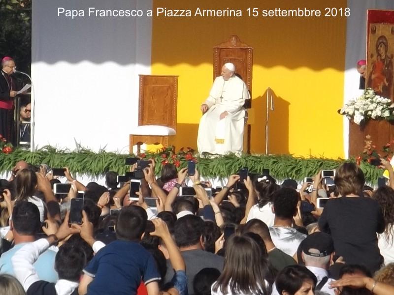 15 settembre PAPA FRANCESCO IN SICILIA