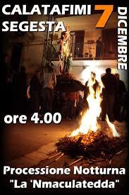 Mmaculatedda, Festa dell'immacolata a Calatafimi Segesta Trapani