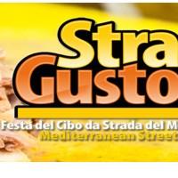 Stragusto en Trapani Sicilia internacional de alimentos calle