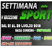 Sport Week 5th 2018 in Custonaci Trapani
