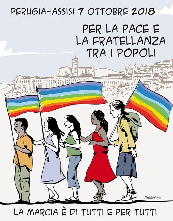 La paz de Asís Perugia 2018