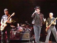 U2 in concert in Turin