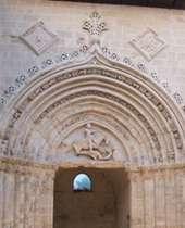 Chiesa di San Giorgio il portale a Ragusa