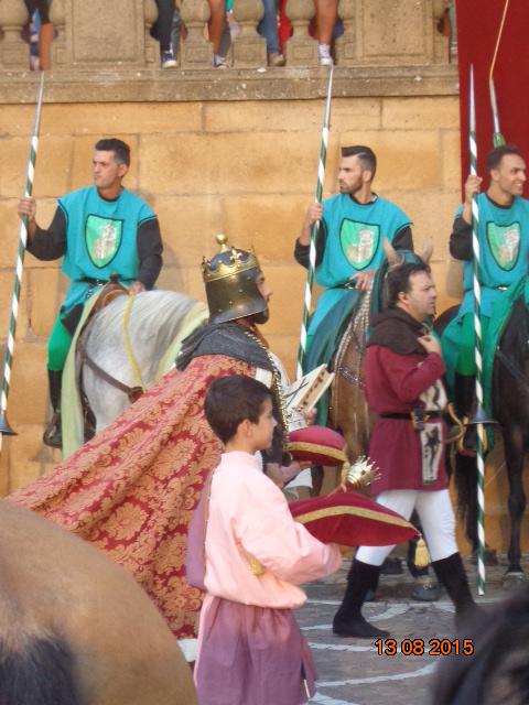 Palio dei Normanni a Piazza Armerina Enna Sicilia