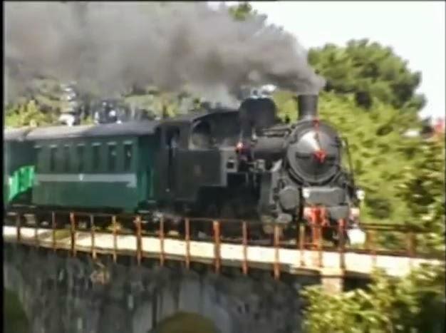 Poesia Treno a vapore