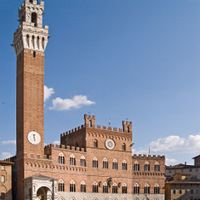 Palazzi a Siena