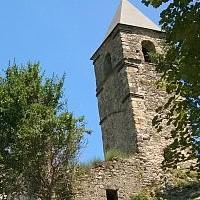 Borgo Morino vecchio all'Aquila Abruzzo