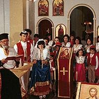 Rito bizantino a Lungro-Cosenza