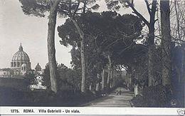 Villa Gabrielli al Gianicolo Roma