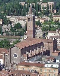 Campanile della basilica di Verona