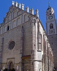 Saint Nicholas in Merano in South Tyrol