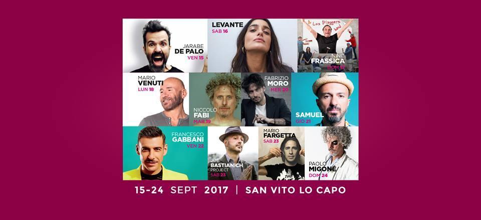 Francesco Gabbani al XX Cous Cous Fest