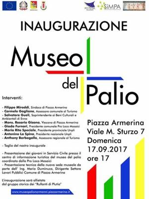 Inaugurazione Museo del Palio a Piazza Armerina Enna