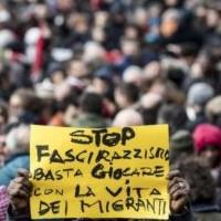 Sit in antirazzista Palermo