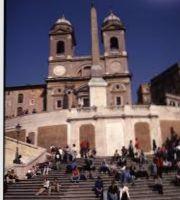 Riapre Trinitàdei Monti Roma