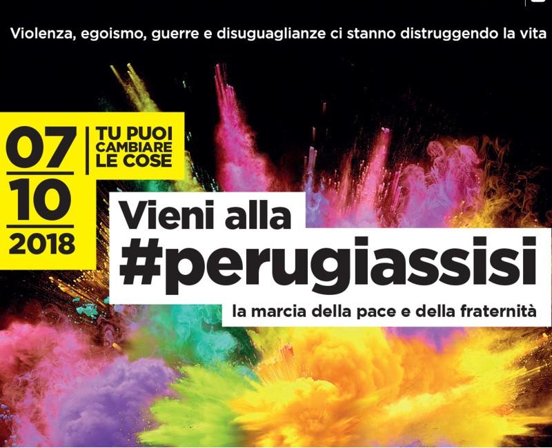 Marcia della pace Perugi Assisi