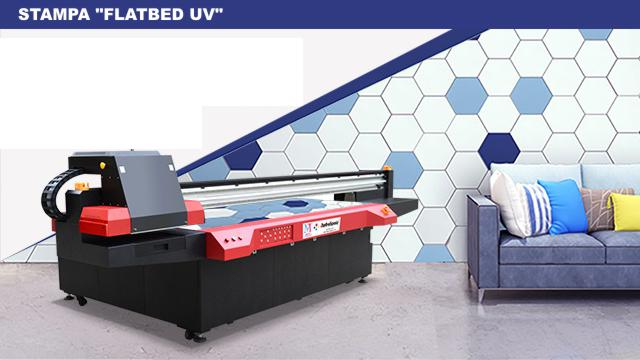 Stampa UV LED FLATBED